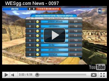 WES Week №19. Видеообзор 4го тура Чемпионата Украины по Counter-Strike.