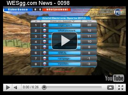 WES Week №19. Видеообзор 4го тура Чемпионата России по Counter-Strike.
