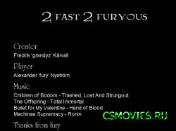 2 fast 2 furyous
